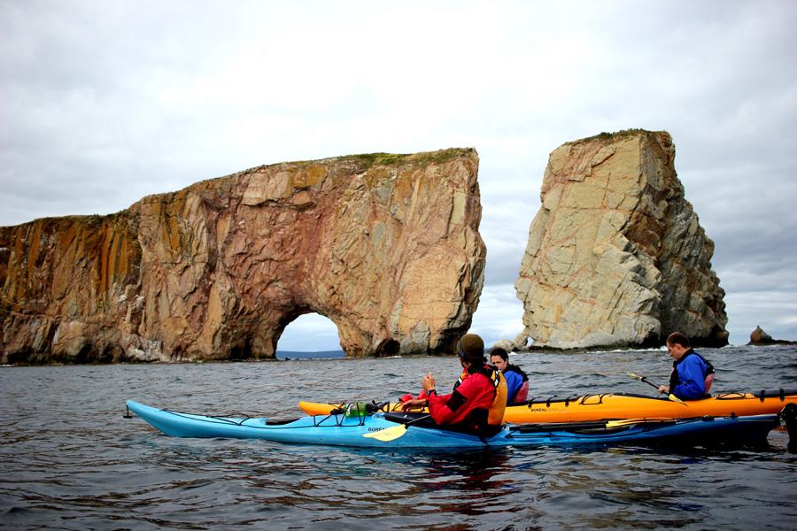 kayak de mer Percé